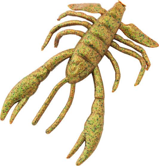 Berkley Gulp! Crabby Soft Plastic Lure 2.5in Breen Chartreuse, Breen Chartreuse, bcf_hi-res