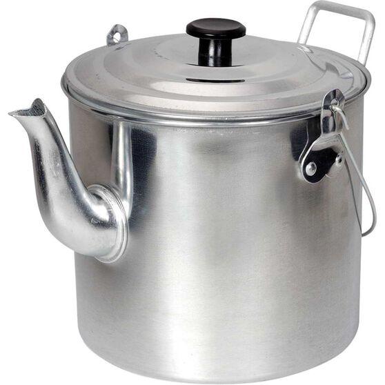 Aluminium Billy Teapot 6Pt, , bcf_hi-res