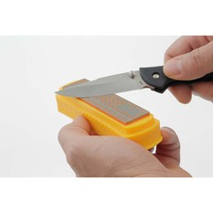 Smith 4in Diamond Stone Knife Sharpener, , bcf_hi-res