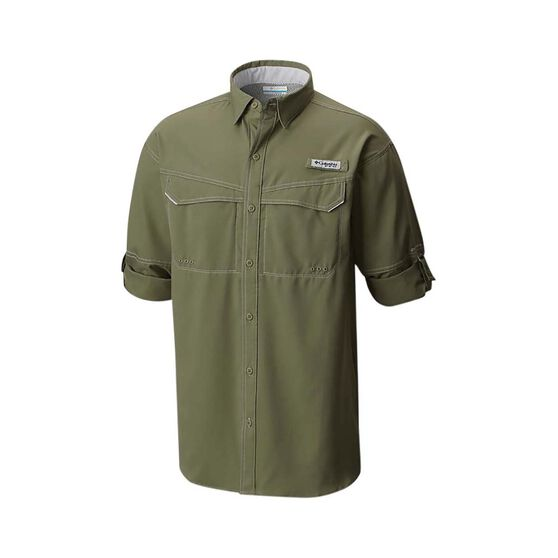 Columbia Mens Low Drag Offshore Long Sleeve Shirt, Cypress, bcf_hi-res