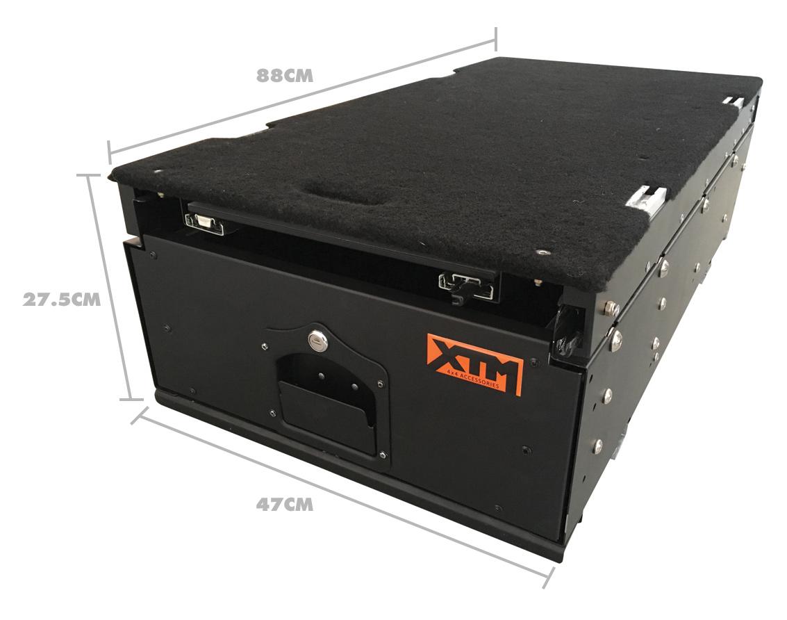 XTM Modular Drawer Measurement